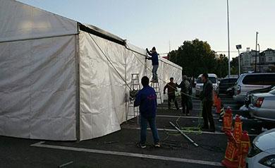 新城西区农村活动篷房
