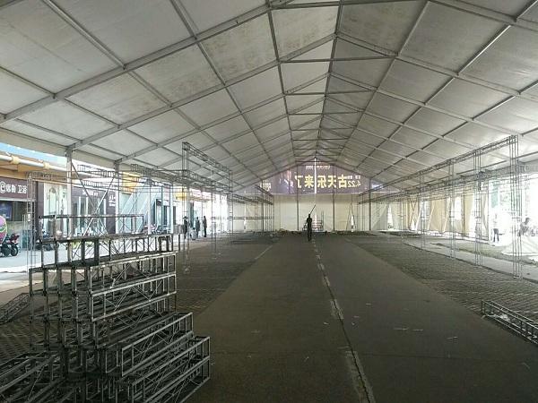 常州红星美凯龙25米全铝合金篷房
