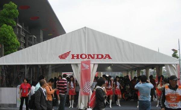 汽车展览篷房